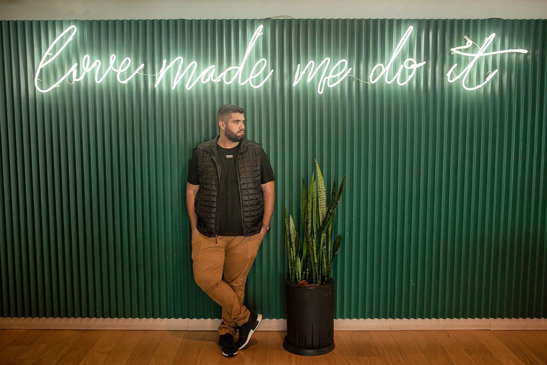 Pedro Motta, Tech Lead iFood - foto de Gabriel Ornellas